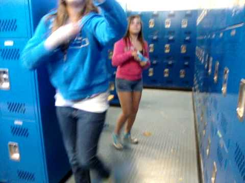 Teen girls in changing rooms
