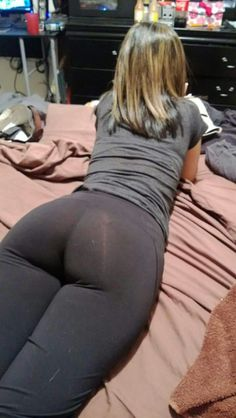 White girls with sexy legging pussy showing