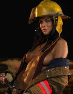 Photos naked girls fire fighters